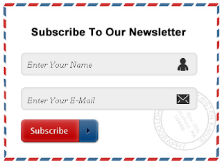 6 best Stylish Email Subscribe Widget For Blogger