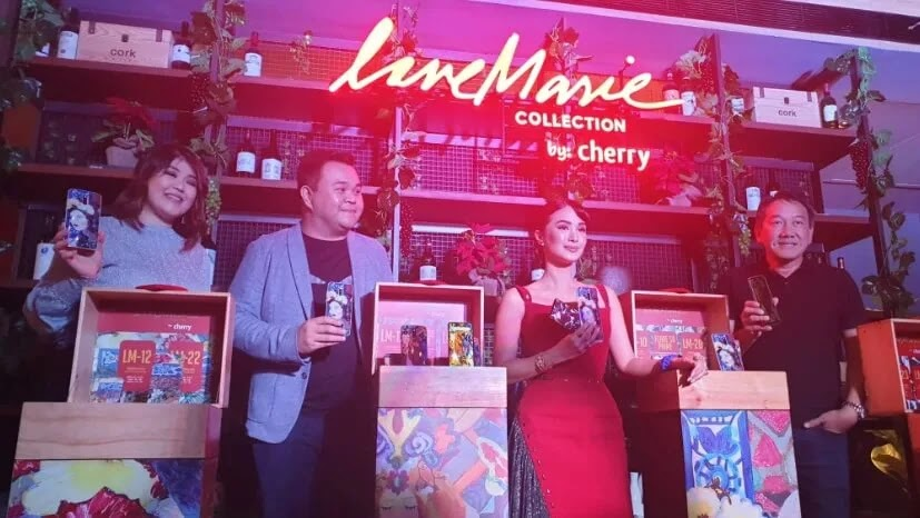 Cherry Mobile Unveils Love Marie Collection; A Heart Evangelista-Escudero x Cherry Mobile Collab