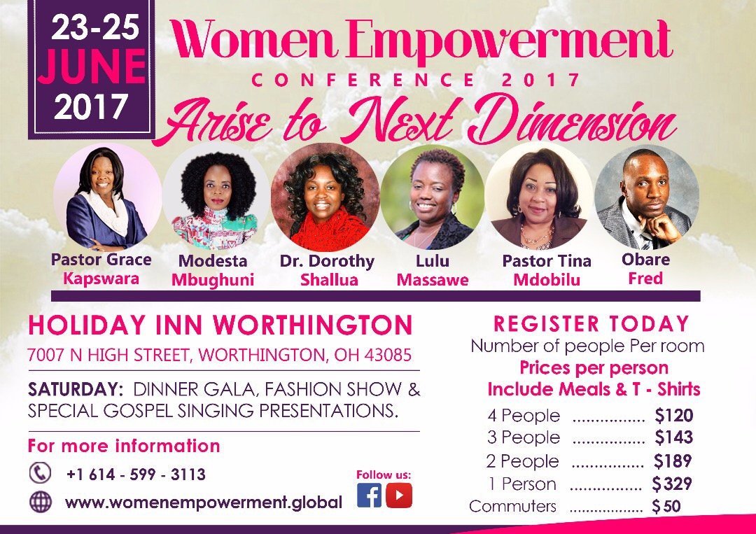 vijimambo women empowerment conference holiday inn. Black Bedroom Furniture Sets. Home Design Ideas