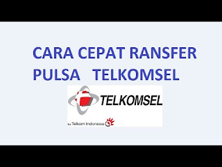 Cara Transfer Pulsa Telkomsel Ke Operator Lain