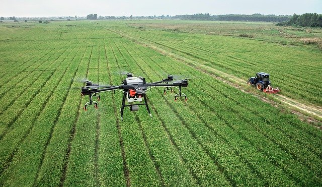 Smart farming with Drone