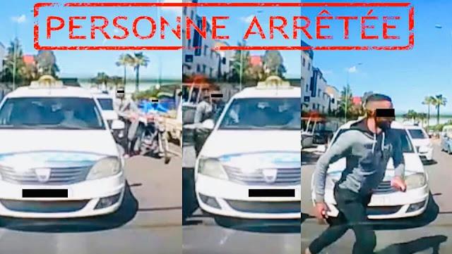 بالصورة...أمن مولاي رشيد يتفاعل مع فيديو السرقة بالخطف بإستعمال دراجة نارية ويشخص هوية المشتبه فيهما ويوقف أحدهما✍️👇👇👇
