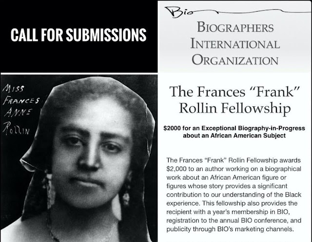 "BIO Frances ""Frank"" Rollin Fellowship 2021 (up to $2,000)"