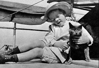Theodore Roosevelt y su gato