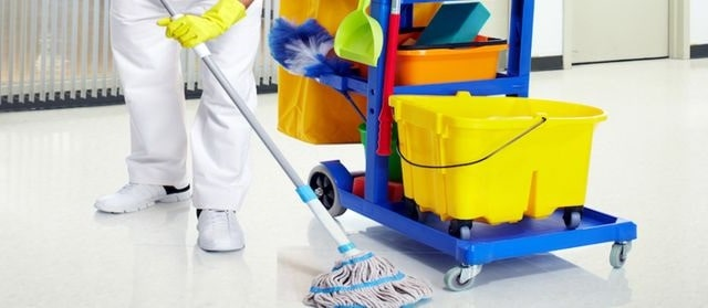 hiring janitorial services small business cleaning