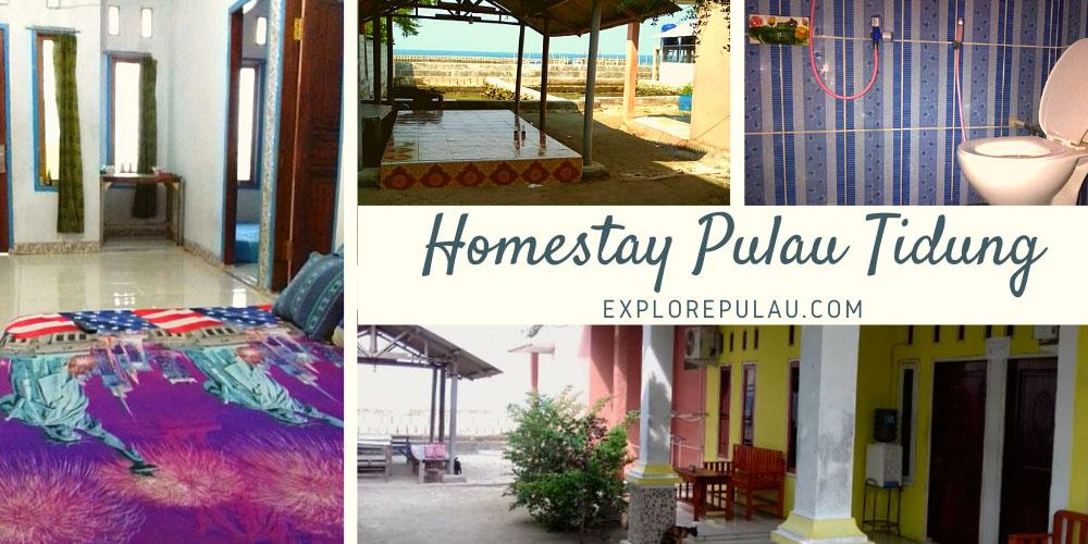 Penginapan Homestay Pulau Tidung