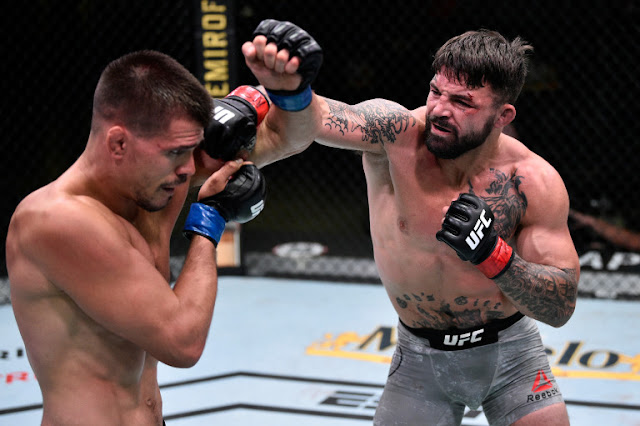 Mike Perry Defeats Mickey Gall UFC On ESPN 12