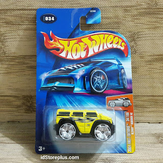 HOT WHEELS HOT WHEELS BLINGS HUMMER H2 FIRST EDITIONS 34/100