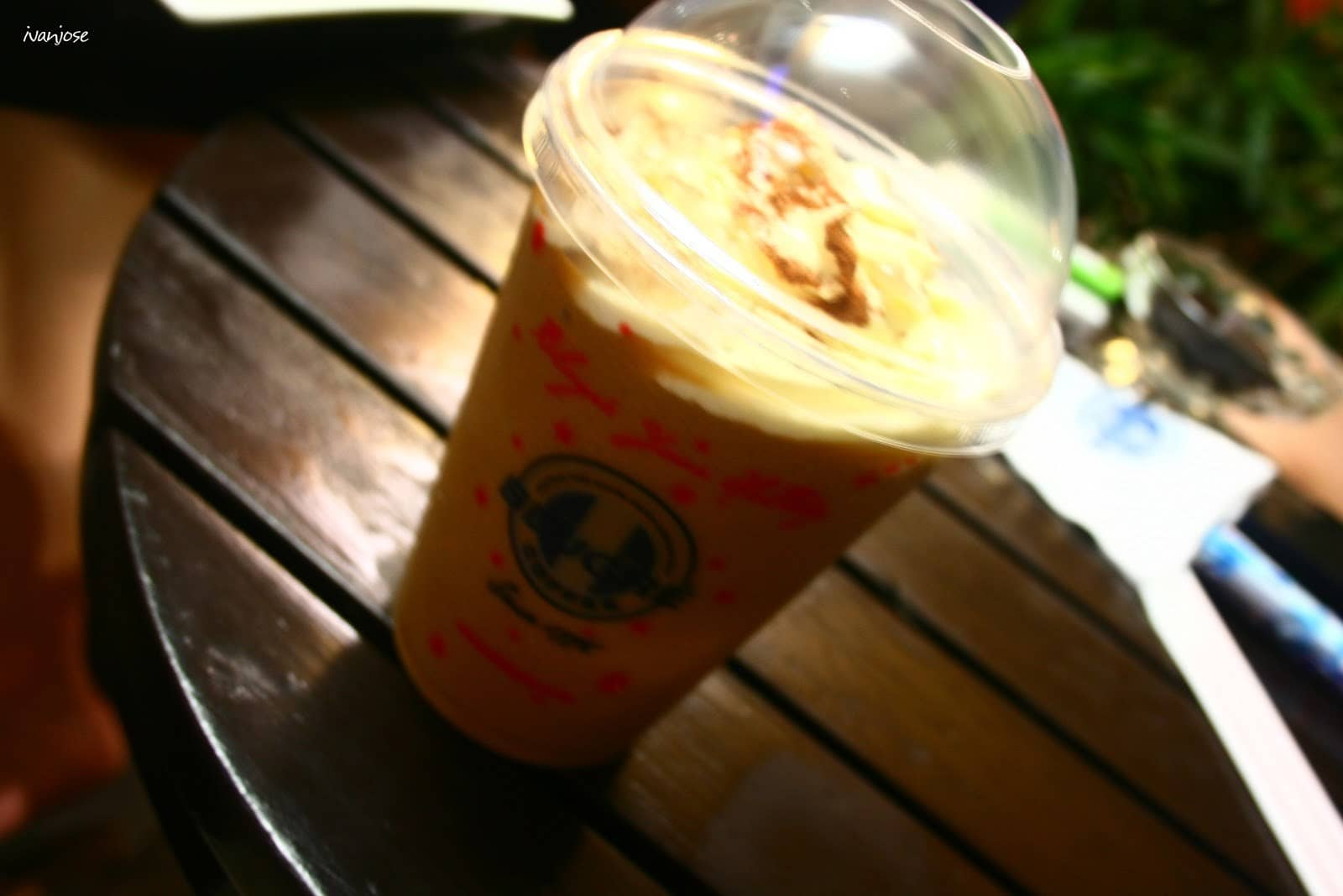 Durian coffee from Blugre Coffee in General Santos City, Mindanao