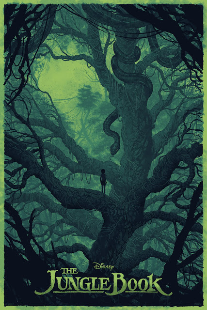 The Jungle Book Screen Print by Daniel Danger x Mondo x Cyclops Print Works