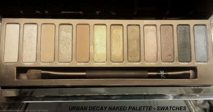 Weekend Ramblings Urban Decay Naked Eyeshadow Palette