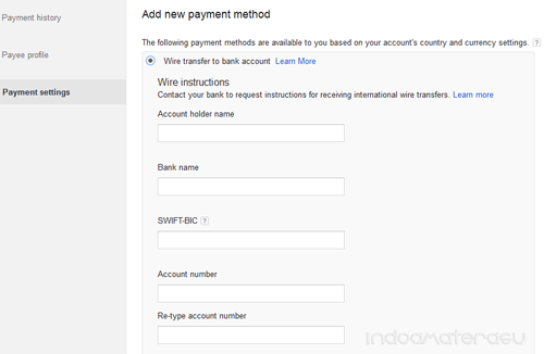 Wire Transfer to Bank Account 4