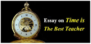 Essay on Time is The Best Teacher