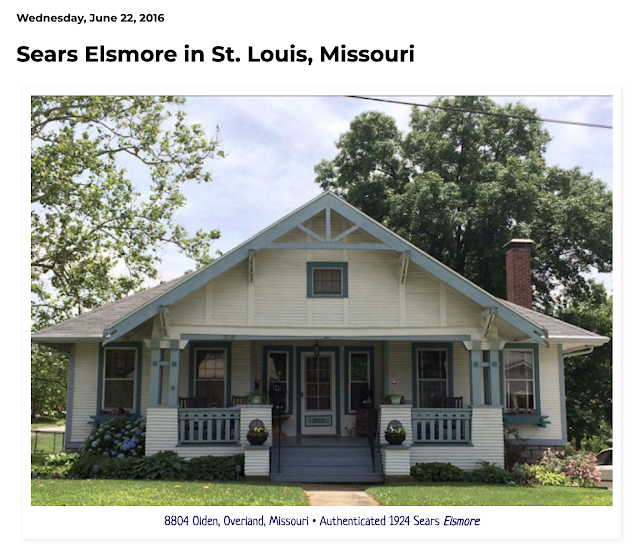 front view color image of Sears Elsmore