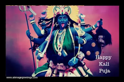 happy kali puja and Diwali wishes
