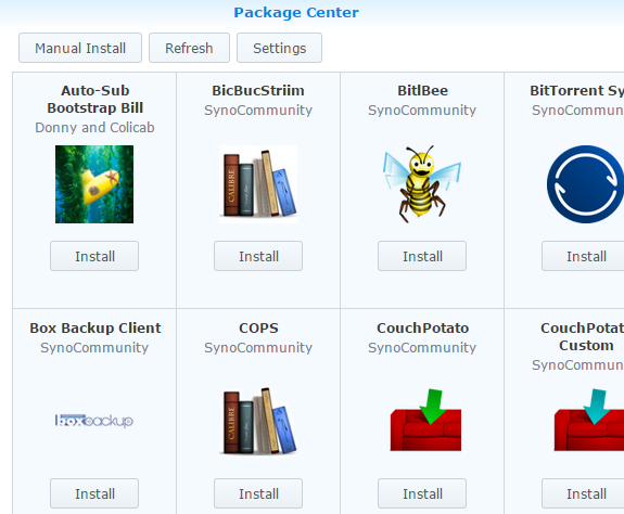 A champagne supernova in the sky: Add Package Sources in Synology