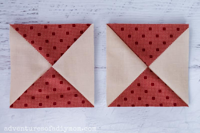hourglass quilt blocks