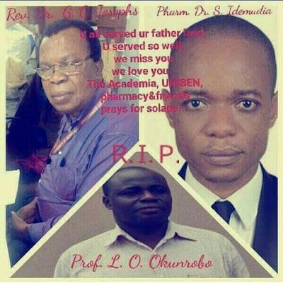 Three UNIBEN lecturers among victims of Edo tragic road accident