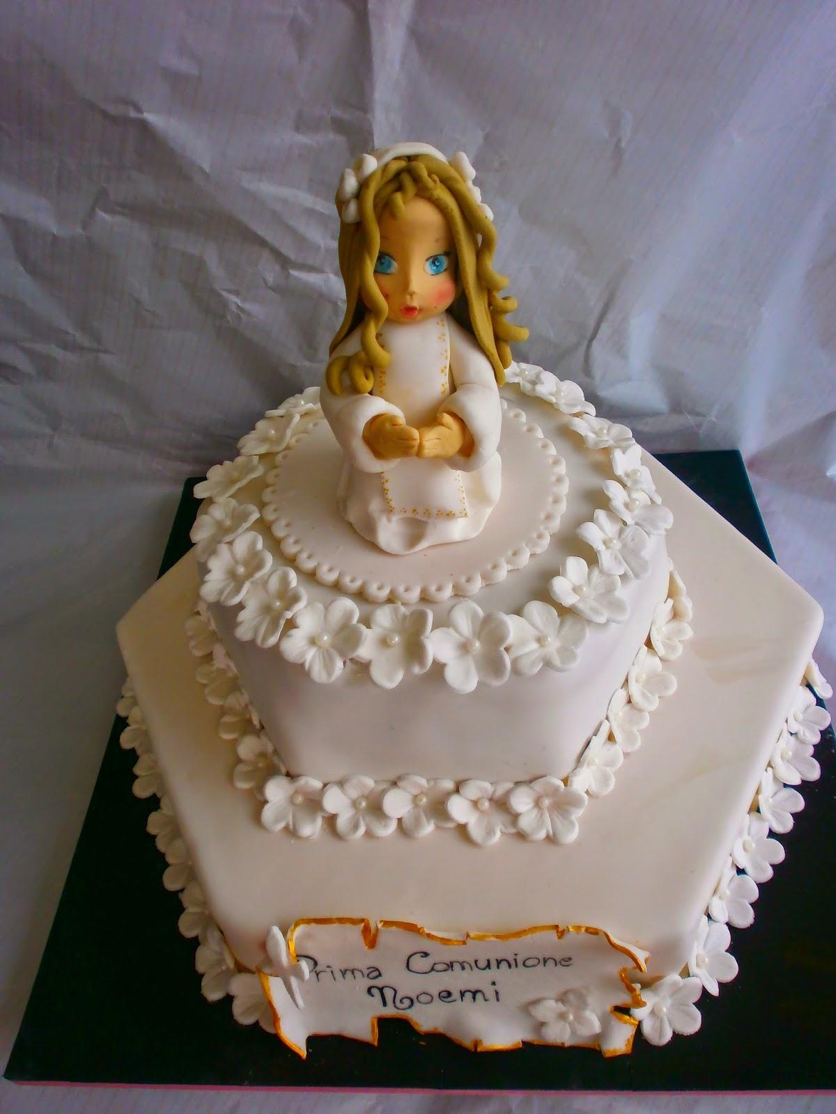Favorito Michela Cake Designer: TORTA PRIMA COMUNIONE OL96