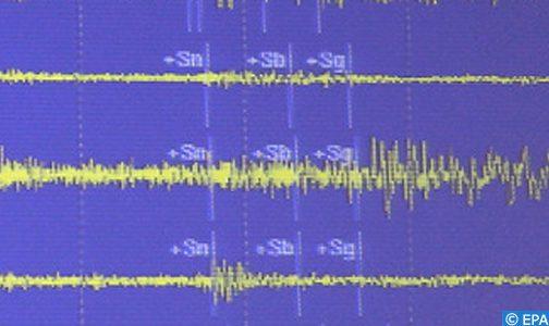 تسجيل هزة أرضية بقوة 4.4 درجات بعرض الدريوش