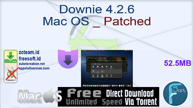 Downie 4.2.6 Mac OS _ Patched_ ZcTeam.id