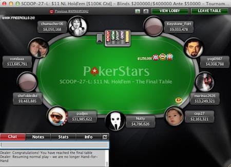 game PC PokerStars