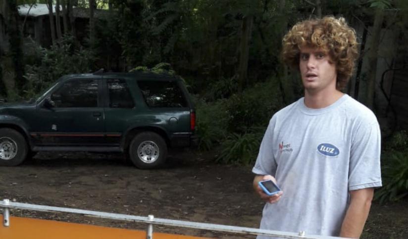 """El surfer que violó la cuarentena en marzo de 2020: """"Alberto Fernández me dijo idiota, lo tomo como de quien viene"""""""
