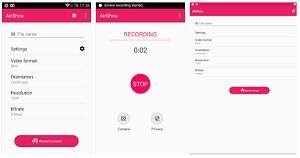 aplikasi perekam layar android kualitas hd