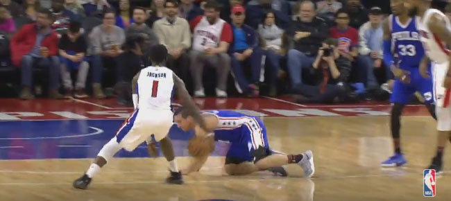 Reggie Jackson Crosses Over, Drops Defender and Hits the 3 (VIDEO)