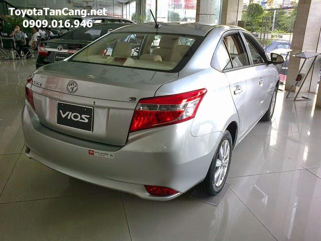 toyota vios 1 5 e toyota tan cang 10 -  - Giá xe Toyota Vios 1.5E khuyến mãi tốt nhất Tp. Hồ Chí Minh