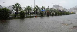 تحذير من أمطار غزيرة وفيضانات محتملة في 4 ولايات تركية