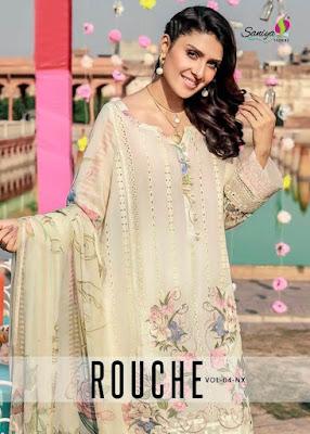 Saniya Trendz Rouch vol 4 Nx Pakistani Suits Wholesaler