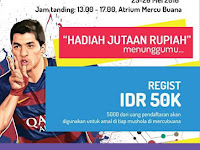 Kompetisi PES 2016 di Mercu Buana Jakarta Mei 2016
