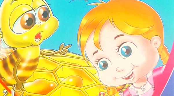 قصص اطفال جديدة / النحلة العجيبة