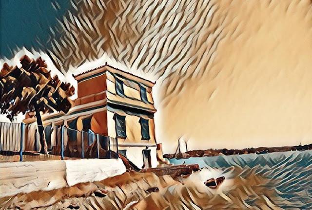 """Έκθεση Ζωγραφικής & Εικαστικών από την """"Καλλιτεχνική Ομάδα Ερμιονίδας"""" στο Πόρτο Χέλι"""