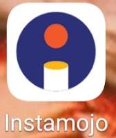 इंस्टामोजो वेबसाइट का लोगो