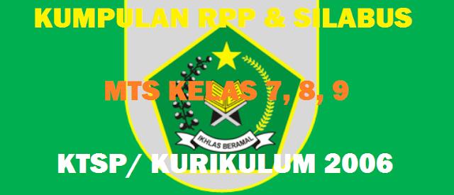 RPP Qur'an Hadits Kelas 7, RPP Qur'an Hadits Kelas 8, dan RPP Qur'an Hadits Kelas 9