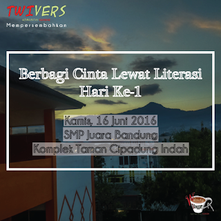 [Program Bulan Ramadhan] Berbagi Cinta Lewat Literasi: Buka Puasa Bersama Adik-adik SD dan SMP Juara Bandung