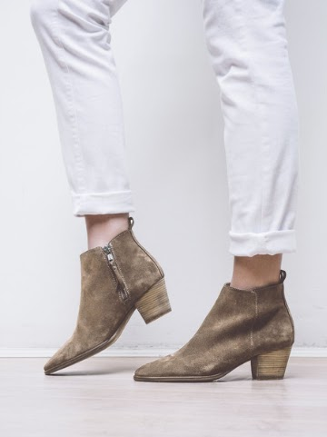 Seven Boot Lane Erin Walnut Suede Boots