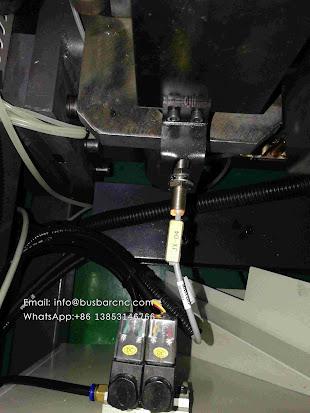 servo cnc hydraulic busbar shear