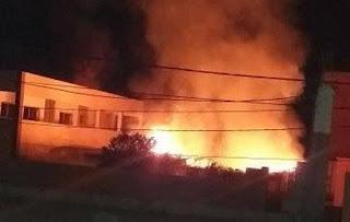 اندلاع حريق بإدارة مدرسة ضواحي أكادير والمديرية توضح