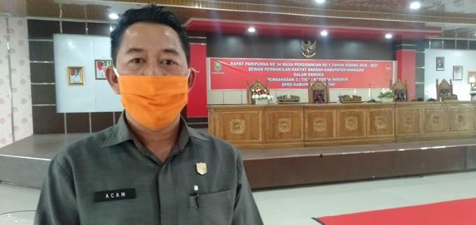 Tiga Raperda Inisiatif, Ini Penjelasan Wakil Ketua DPRD Sanggau