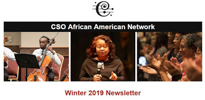CSO African American Network - Winter 2019 Newsletter