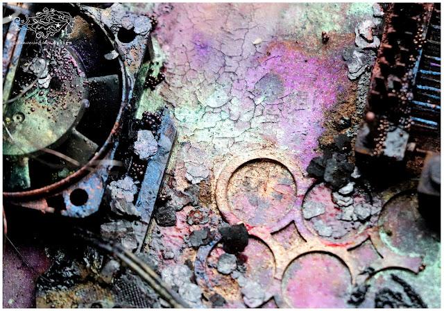 @nastyalena #mixedmedia #canvas #scrapbooking