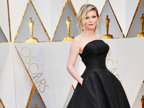 Kirsten Dunst - Look - Óscares 2017