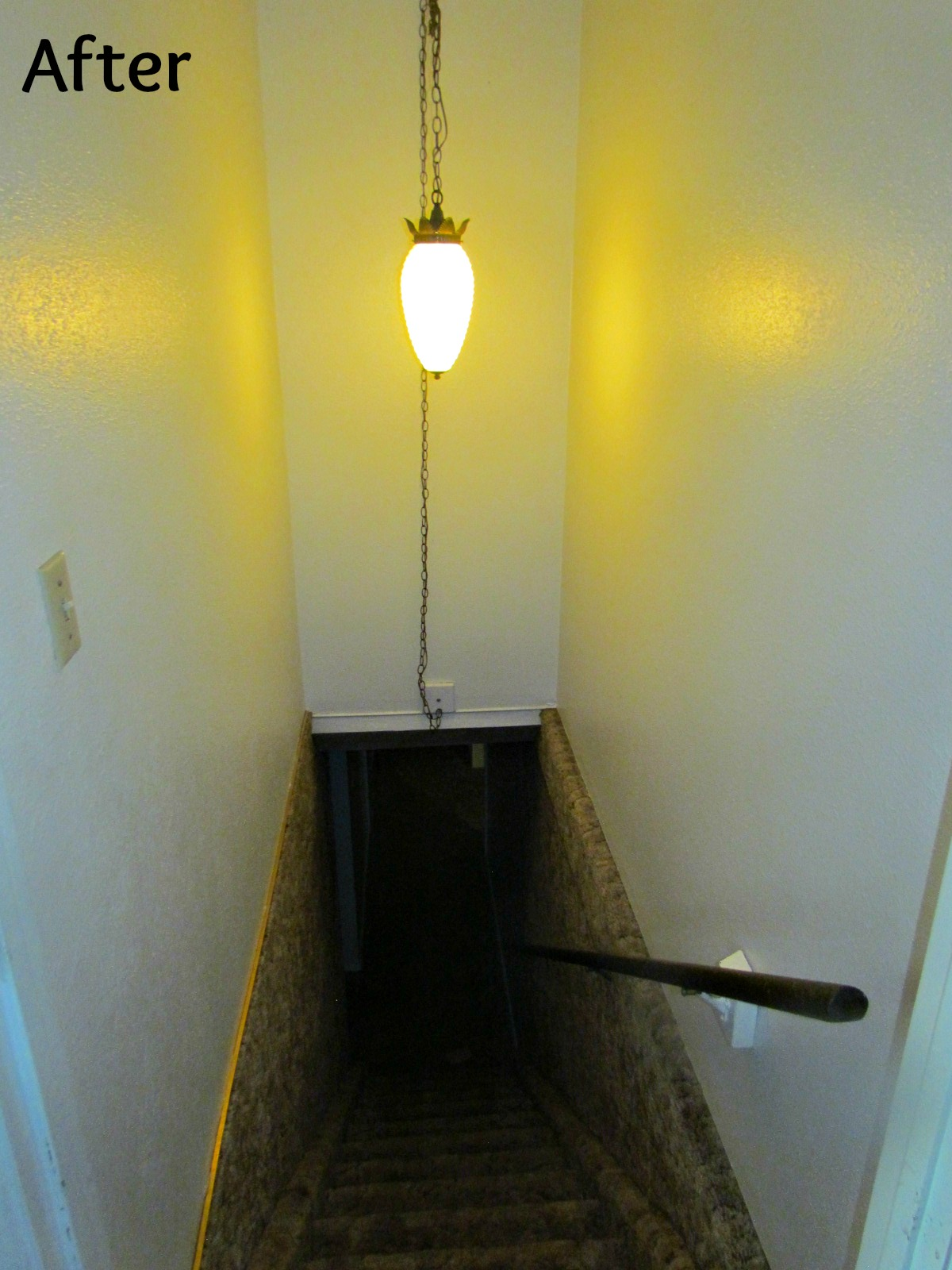 Lighting Basement Washroom Stairs: Lighting The Stairway