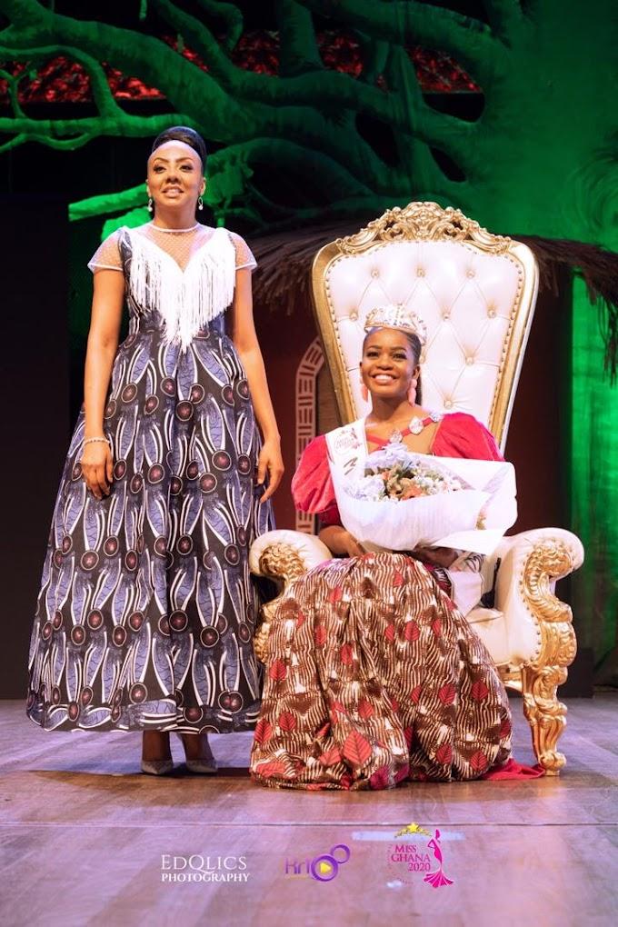 Volta Region's Monique Agbedekpui Crowned Miss Ghana 2020