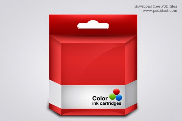 Printer Ink Cartridge PSD