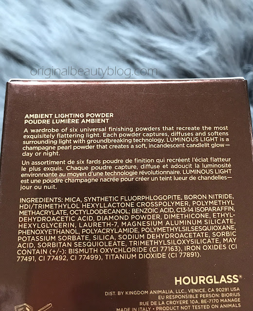 Hourglass Lighting Powder - Luminous Light