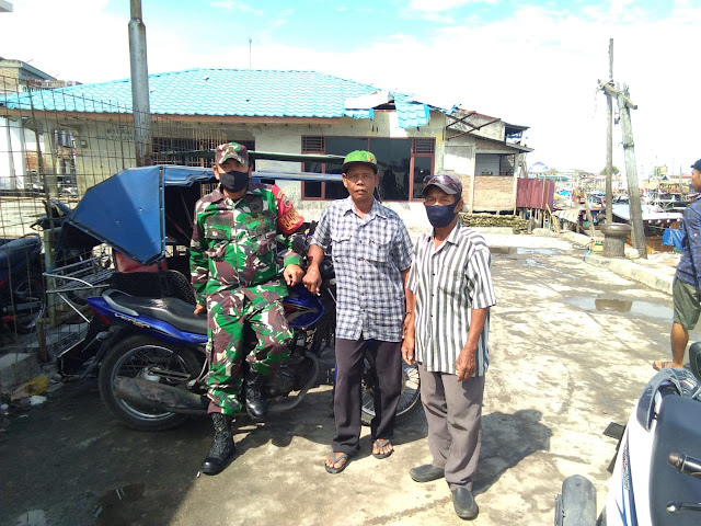 Personel Jajaran Kodim 0208/Asahan Laksanakan Komsos Dengan Warga Serta Penggalangan Mitra Karib